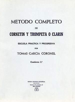 Tomas Garcia Coronel: Metodo Completo De Trompeta Vol.2