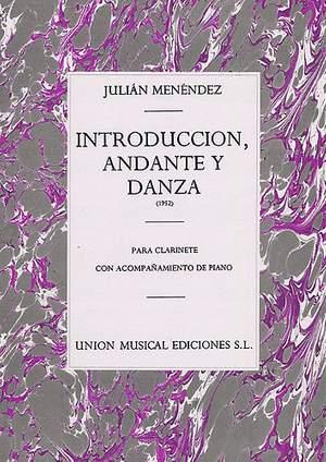 Julian Menéndez: Introduccion Andante Y Danza