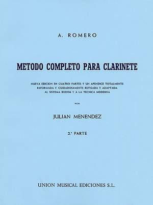 Romero Metodo Completo Para Clarinete Part 2