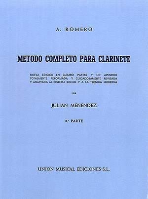 Romero Metodo Completo Para Clarinete Part 3