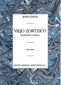 Jesus Guridi: Viejo Zortzico For Harp