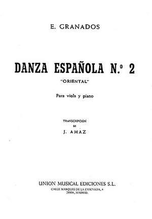 Enrique Granados: Danza Espanola No.2 - Oriental (Viola/Piano)