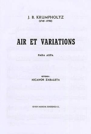 Krumpholtz Air Et Variations