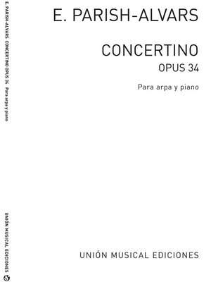 Elias Parish Alvars: Concertino Op.34 (Manuscript Edition)