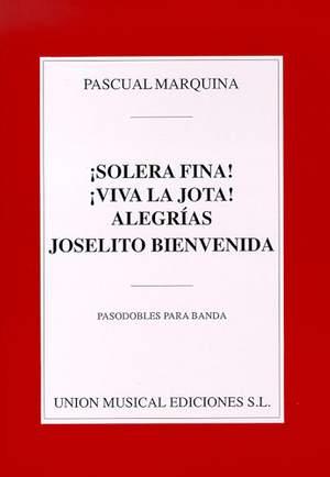 Pascual Marquina Narro: Pasodobles Para Banda