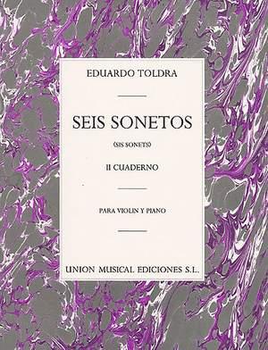 Eduardo Toldra: Seis Sonetos Vol. II