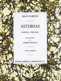 Isaac Albéniz: Albeniz Asturias Preludio (segovia) Guitar