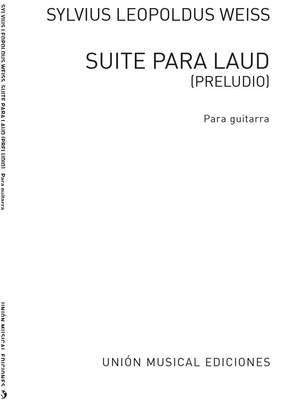 Sylvius Leopold Weiss: Suite Para Laud For Guitar