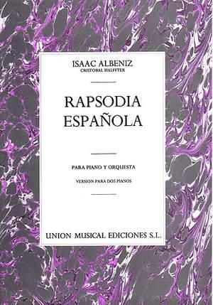 Albeniz: Rapsodia Espanola for Two Pianos