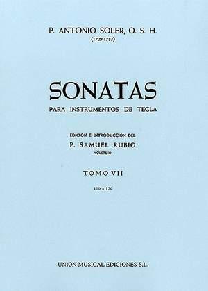 Antonio Soler: Sonatas Volume Seven