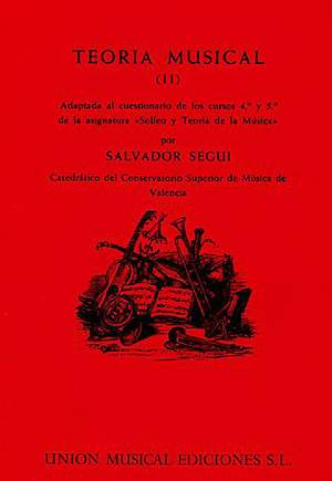 Salvador Segui: Teoria Musical Ii