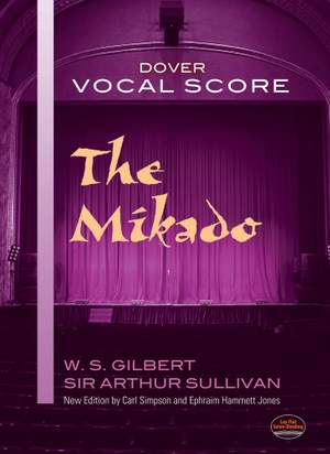 Arthur Sullivan: The Mikado Vocal Score