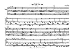 Michael Nyman: Fourths Mostly For Organ Solo Product Image