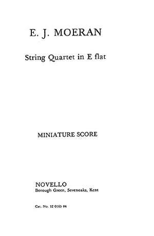 E.J Morean: String Quartet In E Flat