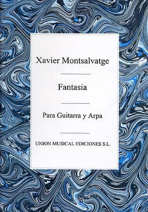 Xavier Montsalvatage: Fantasia For Harp And Guitar