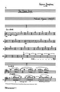 Michael Nyman: The Piano Sings