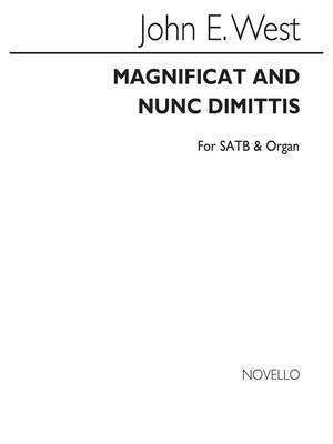 John E. West: Magnificat And Nunc Dimittis In A