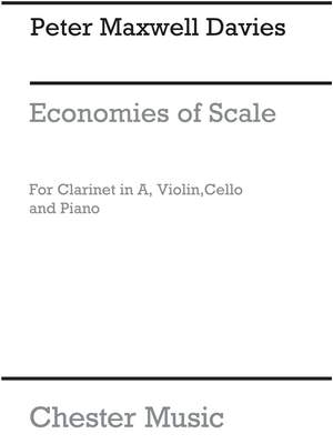 Peter Maxwell Davies: Economies Of Scale (Parts)