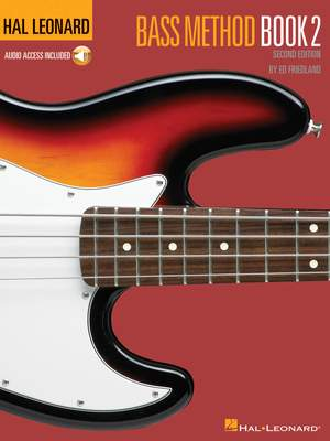 Hal Leonard Bass Method Book 2 (2nd edition) Product Image