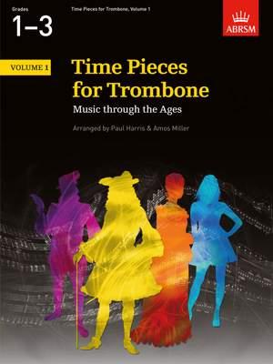 Paul Harris: Time Pieces for Trombone, Volume 1