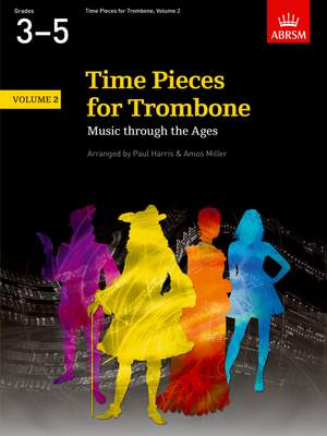Paul Harris: Time Pieces for Trombone, Volume 2