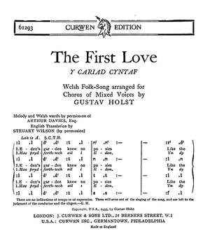 Gustav Holst: The First Love