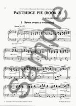 Richard Rodney Bennett: Partridge Pie Book 2 For Piano Product Image