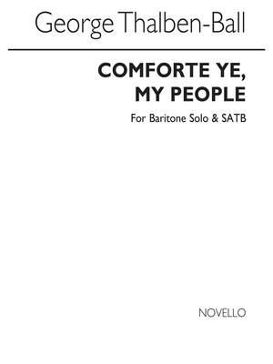 George Thalben-Ball: Comfort Ye, My People