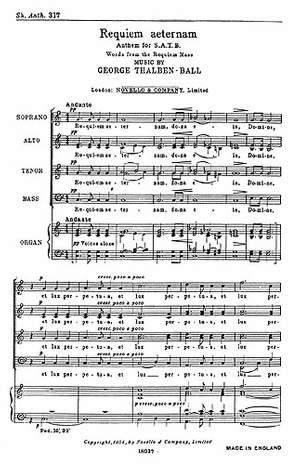 George Thalben-Ball: Requiem Aeternam