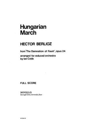 Hector Berlioz: Hungarian March
