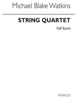 Michael Blake Watkins: String Quartet
