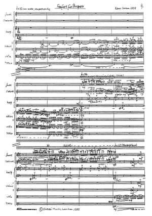 Robert Saxton: Fanfare for Prospero