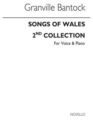 Granville Bantock: Songs Of Wales Book 2 for Voice and Piano