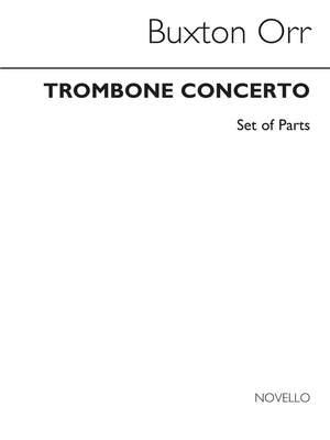 Buxton Orr: Trombone Concerto (Brass Band Parts)