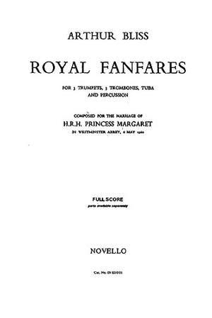 Arthur Bliss: Six Royal Fanfares Brass Ensemble