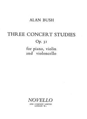 Alan Bush: Three Concert Studies Op.31 Piano Trio