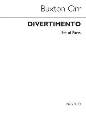 Buxton Orr_Charles Wilfred Orr: Divertimento For Brass Quintet (Parts)