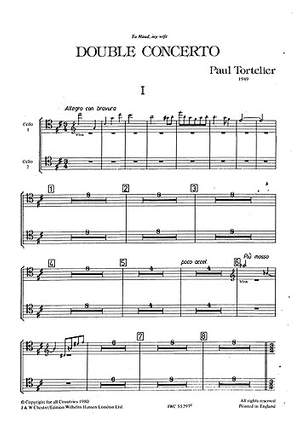 Paul Tortelier: Double Concerto (Two Cello Parts)