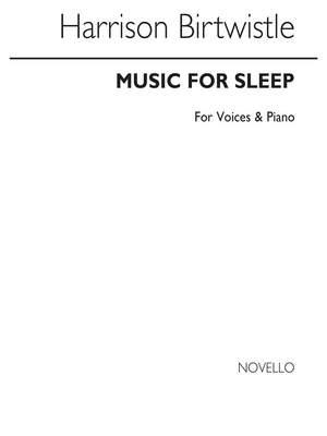 Birtwistle: Music In Sleep