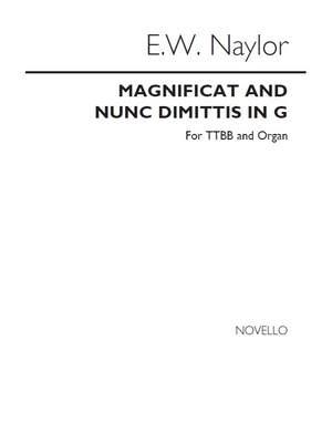 Edward W. Naylor: Magnificat/Nunc Dimitus In G Ttbb