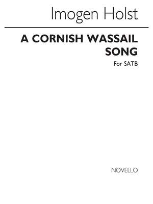 Cecil Sharp_Imogen Holst: A Cornish Wassail Song