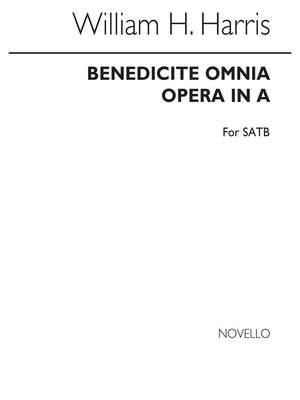 Sir William Henry Harris: Benedicite Omnia Opera