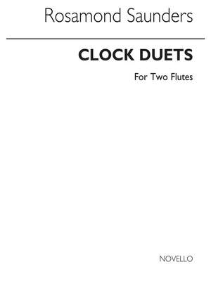 Rosamond Saunders: Clock Duets For Two Flutes