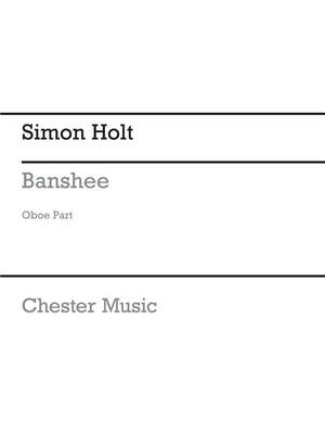 Simon Holt: Banshee (Oboe Part)