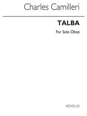 Charles Camilleri: Talba For Oboe Solo