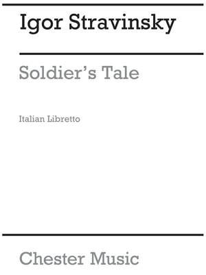 Igor Stravinsky: Storia Del Soldato (Soldiers Tale) (Libretto)