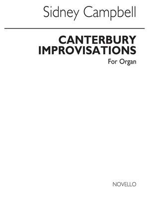 Sidney Campbell: Canterbury Improvisations for