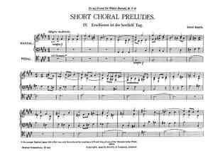 Ethel Smyth: Short Choral Preludes: Nos 4-5