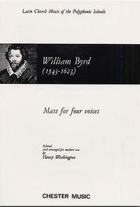 William Byrd: Mass For 4 Voices