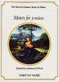 Chester Book Of Motets Vol 7: Motets For 3 Voices